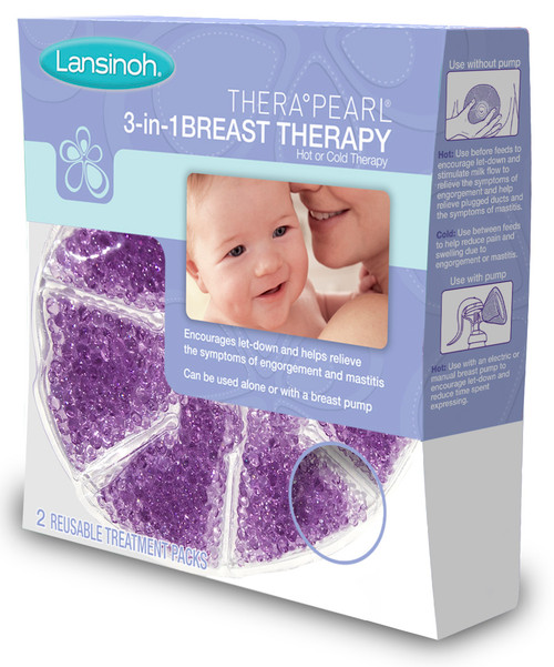 Lansinoh Therapy Pearl 3-in-1 Breast Therapy