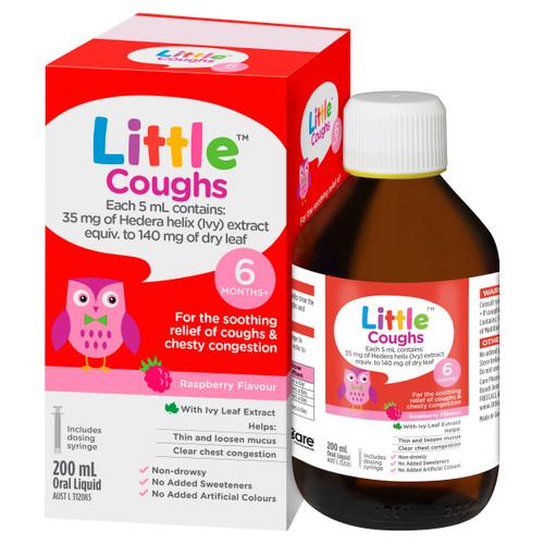 Little Cough Oral Liquid Raspberry 200ml