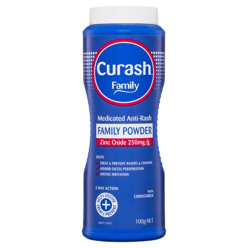 Curash Family Powder Medicated Anti-Rash 100g