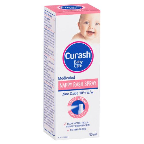 Curash Baby Care Medicated Nappy Rash Spray 50ml