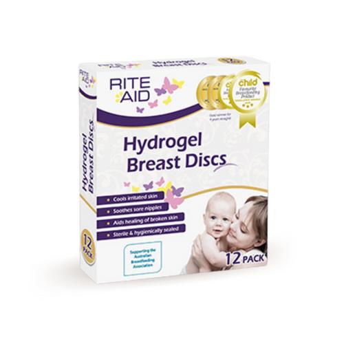 Rite Aid Hydrogel Breast Discs 12pk