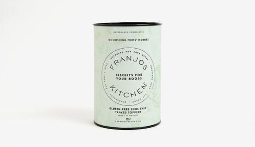 Franjos Kitchen Tanker Topper Gluten Free Choc Chip Biscuits