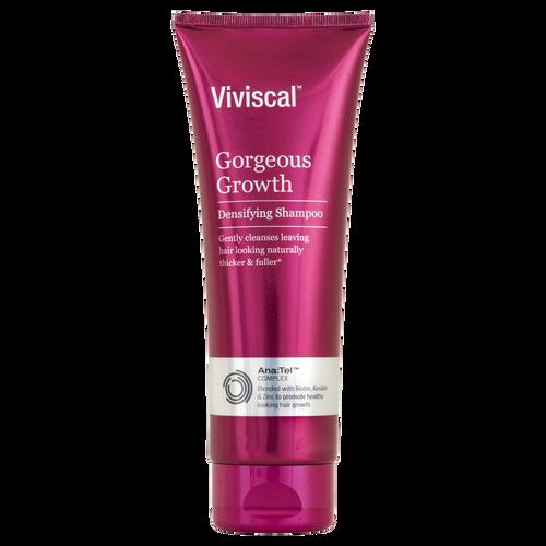 Viviscal Gorgeous Growth Densifying Shampoo Front of Tube