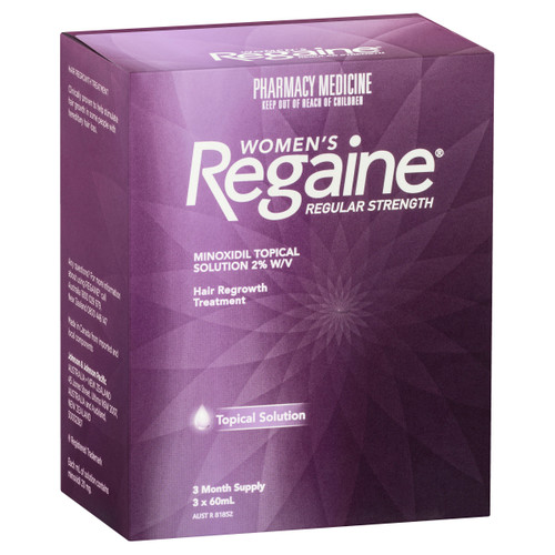 Regaine Women's Regular Strength Minoxidil Hair Regrowth Treatment