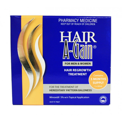 Hair A-Gain Hair A-Gain 5% 5pk