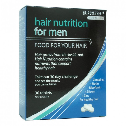 Hair Nutrition Food For Your Hair Men's 30 Capsules