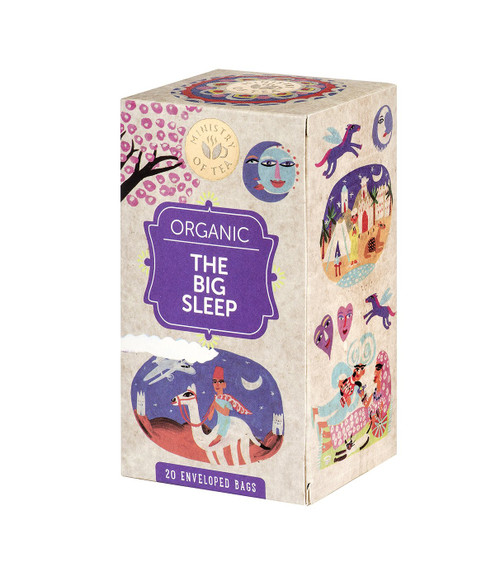 Ministry of Tea Organic The Big Sleep Tea 20pk