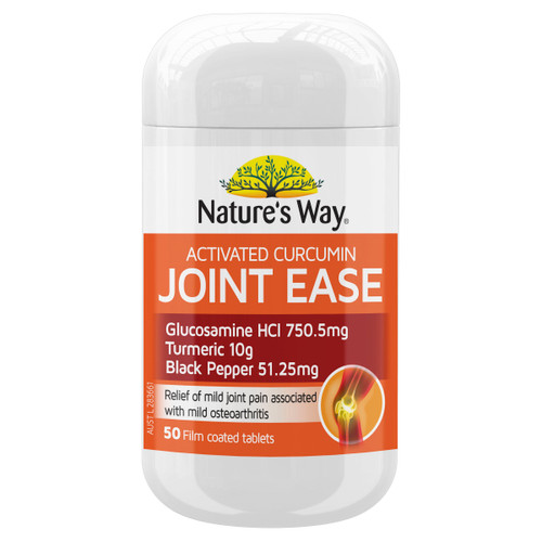Nature's Way Activated Curcumin Turmeric Concentrate Joint Ease 50t