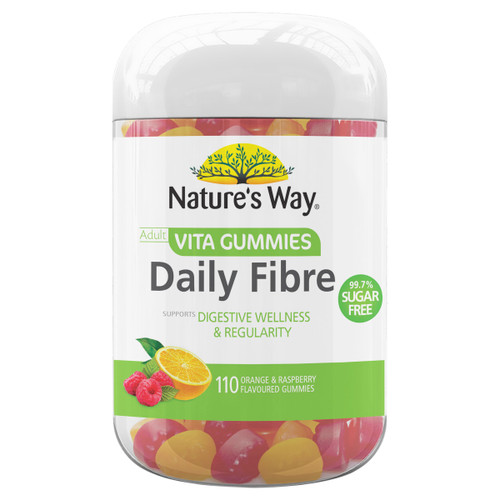 Nature's Way Adult Daily Fibre Vita Gummies