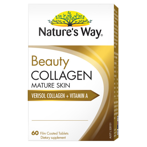 Nature's Way Beauty Collagen Mature Skin 60t