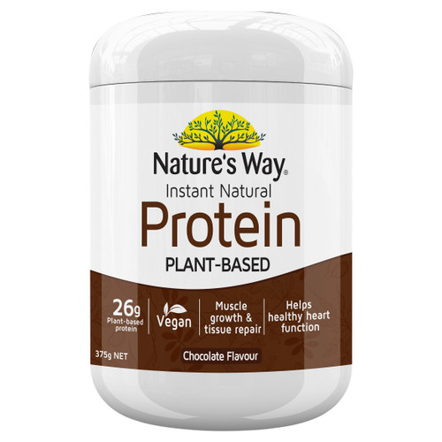 Nature's Way Instant Natural Plant-Based Protein 375g