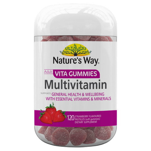 Nature's Way Adult Multivitamin Vita Gummies (120 Gummies)