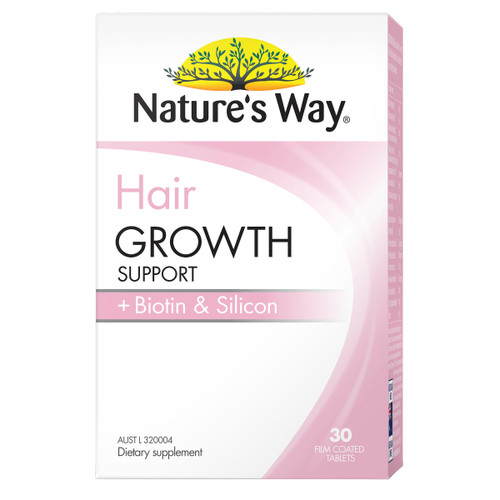 Nature's Way Hair Growth Support 30t