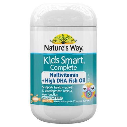 Nature's Way Kids Smart Complete Multivitamin 100c