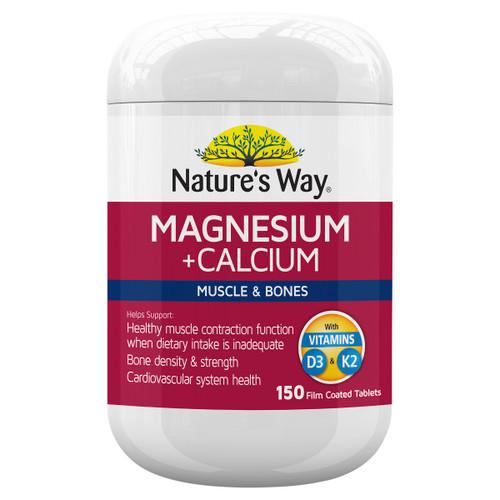 Nature's Way Magnesium + Calcium 150t 1