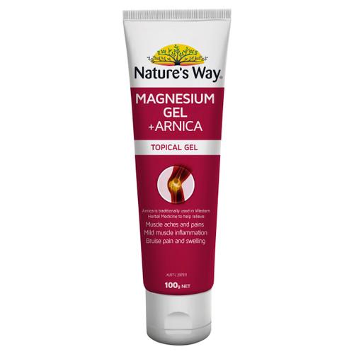 Nature's Way Magnesium Gel + Arnica 100g