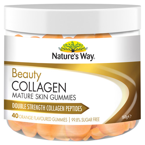 Nature's Way Beauty Collagen Mature Skin Gummies (40 Gummies)
