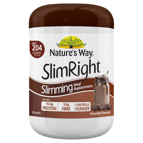 Nature's Way SlimRight Chocolate Shake 375g
