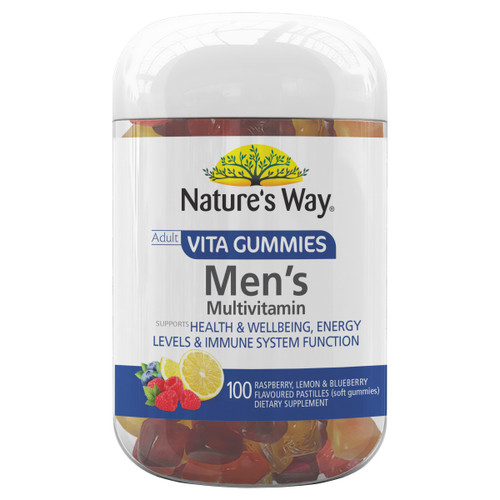 Nature's Way Adult Vita Gummies Men's Multivitamin (100 Gummies)