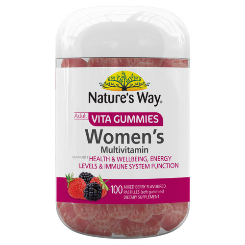Nature's Way Adult Vita Gummies Women's Multivitamin (100 Gummies)