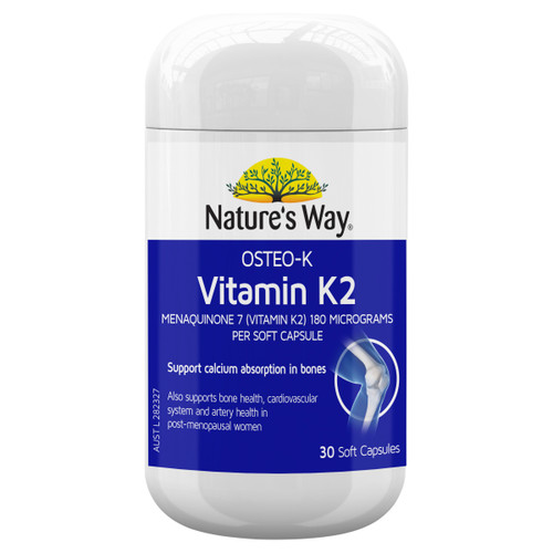 Nature's Way Osteo-K Vitamin K2 180mg 30c