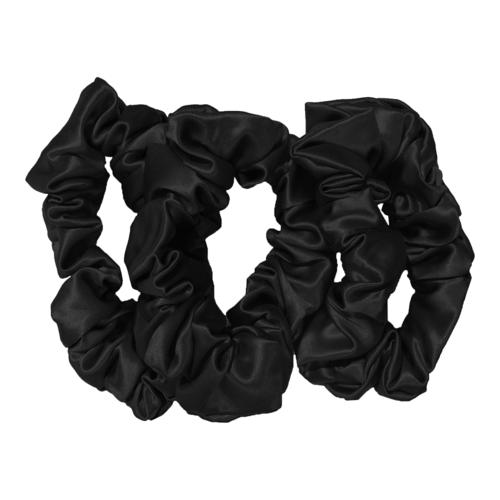 Slip Silk Large Scrunchies Black