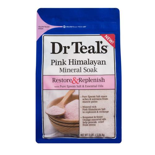 Dr Teals Pink Himalayan Epsom Salt