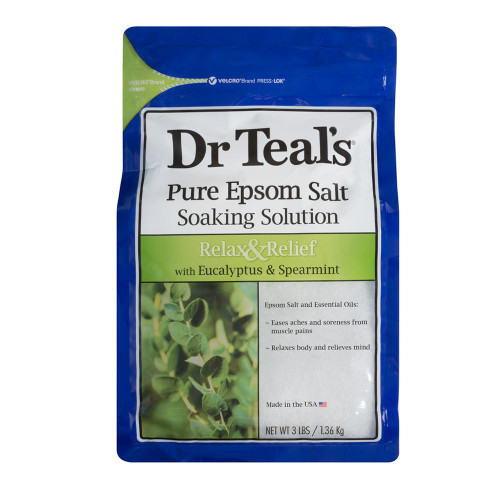 Dr Teals Eucalyptus & Spearmint Epsom Salt 1.36kg