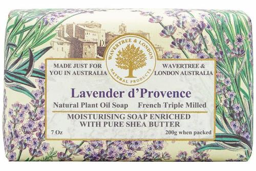 Wavertree & London Soap Bar Lavender 200g
