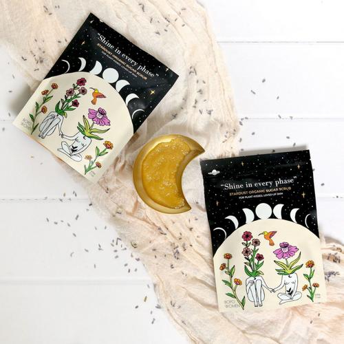 Bopo Womens Stardust Organic Sugar Scrub 200g