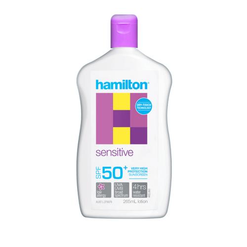 Hamilton Sensitive SPF50+ Lotion 265ml