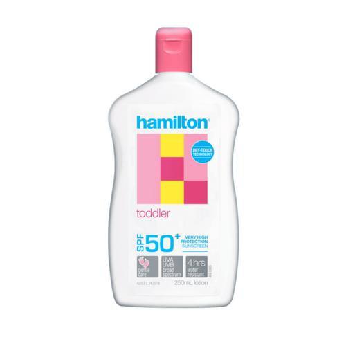 Hamilton Toddler SPF50+ Lotion 250ml