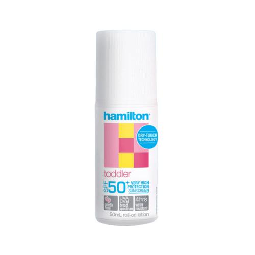 Hamilton Toddler SPF50+ Roll On 50ml