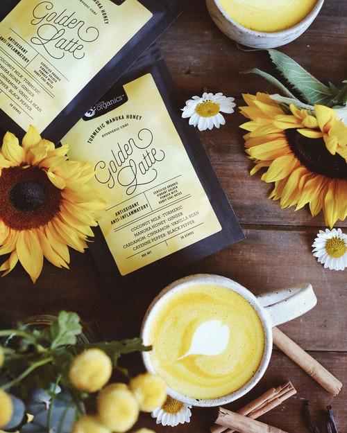 Nutra Organics Golden Latte 90g