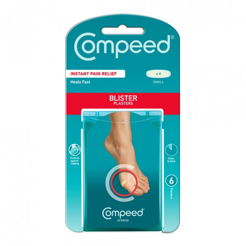 Compeed Blister Plasters Small 6 Pack