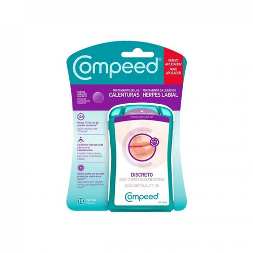 Compeed Cold Sore Discreet Healing Patch 15 Pack