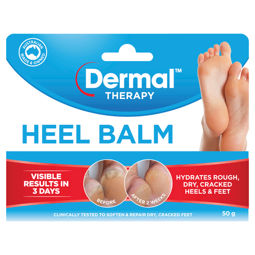 Heel Balm 50g Front of Packaging