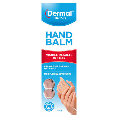 Hand Balm 50g Front of Packaging