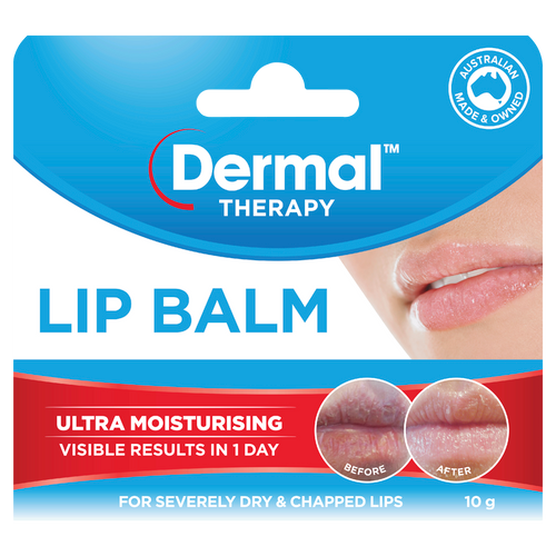 Lip Balm 10g Front of Packaging