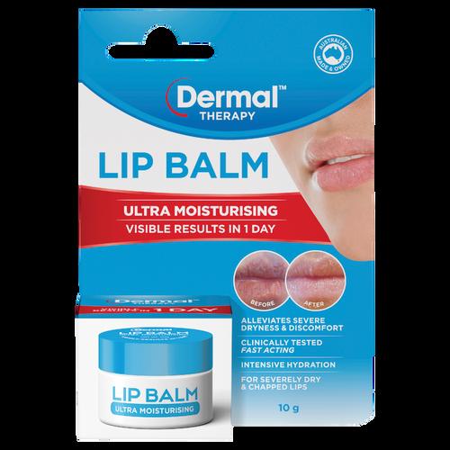 Lip Balm Ultra Moisturising 10g Front of Packaging