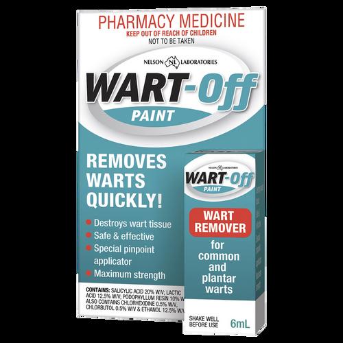 Wart Off Paint 6ml Packaging