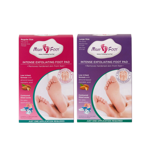 Milky Foot Exfoliating Foot Treatment