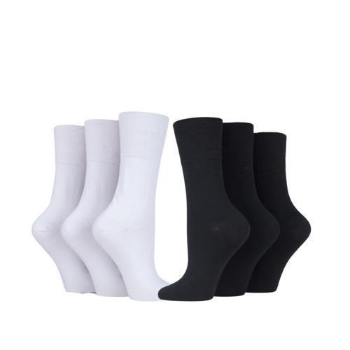 Iomi Gentle Grip Diabetic Ladies Socks