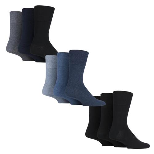 Iomi Gentle Grip Diabetic Mens Socks