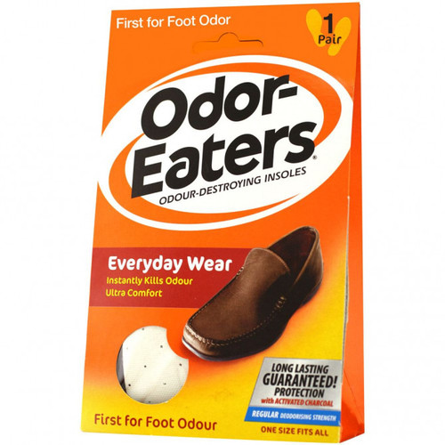 Odor Eaters Everyday Wear Insoles 1 Pair Front of Product