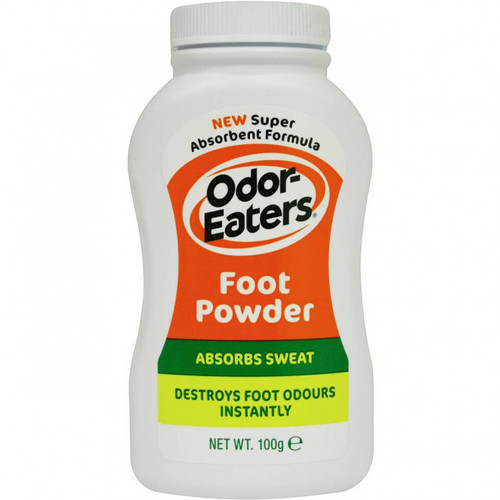 Odor Eaters Foot Powder 100g Front of Product