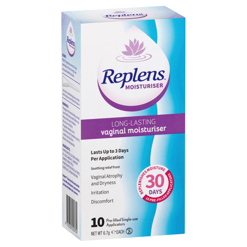 Replen Long Lasting Vaginal Moisturiser 10 Pack