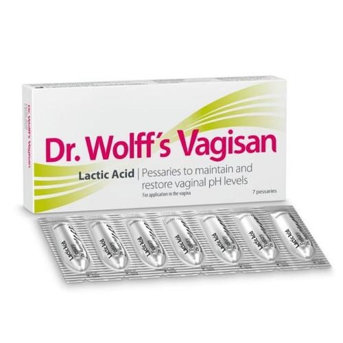 Dr. Wolff's Vagisan Lactic Acid 7 Pessaries