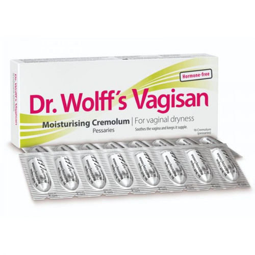 Dr. Wolff's Vagisan Moisturising Cremolum 16 Pessaries