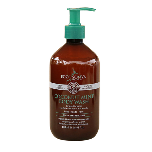 Eco Tan Coconut Mint Body Wash 500ml